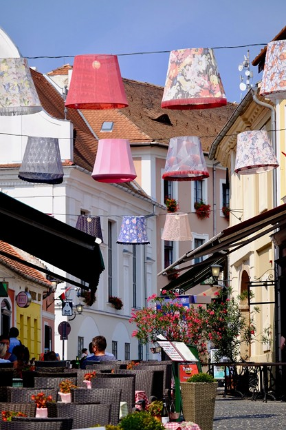 オープンカフェ-Szentendre, Hungary