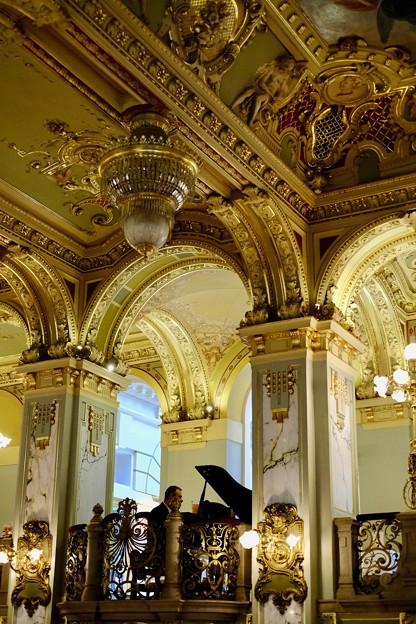 ピアノの生演奏-Budapest, Hungary