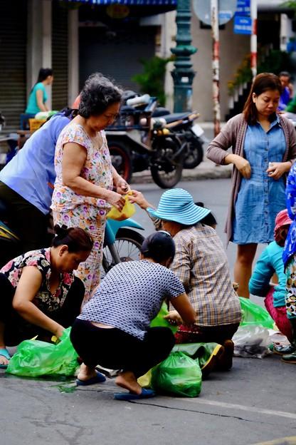 一日の始まり-Ho Chi Minh, Viet Nam
