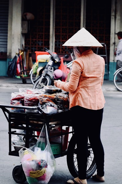 働く女性-Ho Chi Minh, Viet Nam