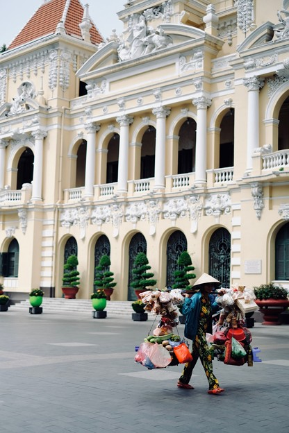 素敵なコロニアル建築-Ho Chi Minh, Viet Nam