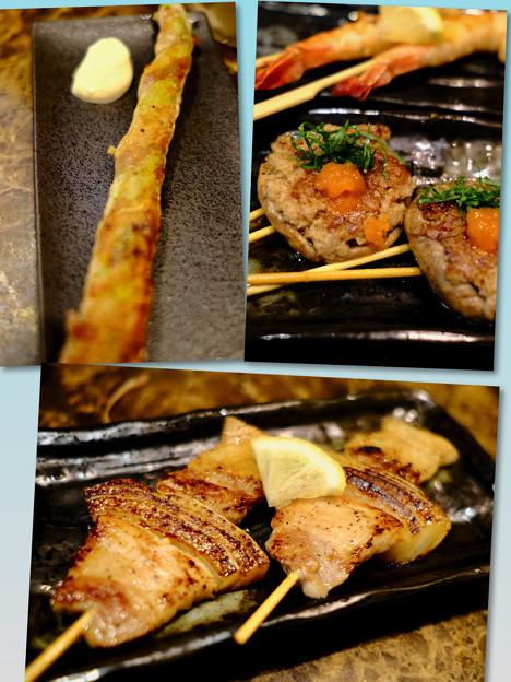串焼き-大阪府羽曳野市:「鉄板串焼き 小鉄」