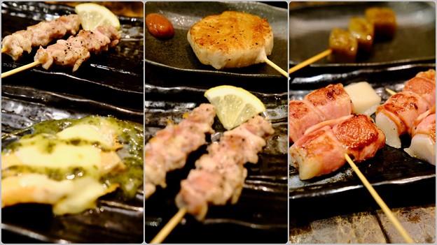 食べた、飲んだ-大阪府羽曳野市:「鉄板串焼き 小鉄」