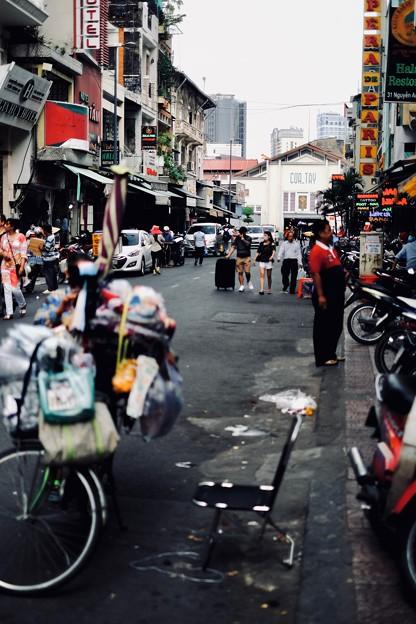 雑踏-Ho Chi Minh, Viet Nam
