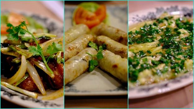 大満足の夕食-Ho Chi Minh, Viet Nam