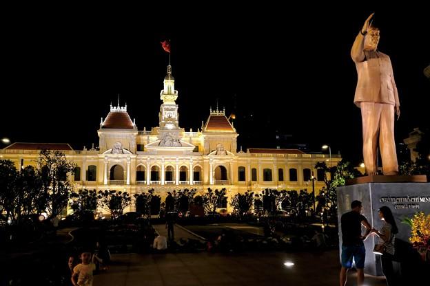 夜のホーチミン-Ho Chi Minh, Viet Nam