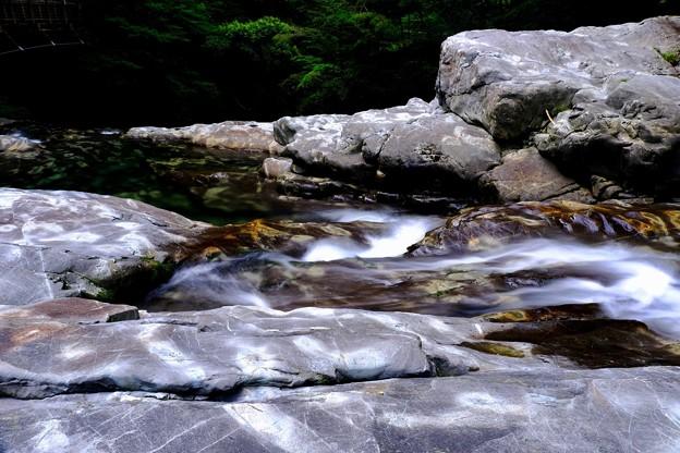 厳しい現実-奈良県天川村:みたらい渓谷
