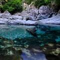 深淵-奈良県天川村:みたらい渓谷