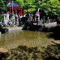 Photos: 清めの水-奈良県天川村:龍泉寺
