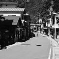 温泉街へ-奈良県天川村:洞川温泉