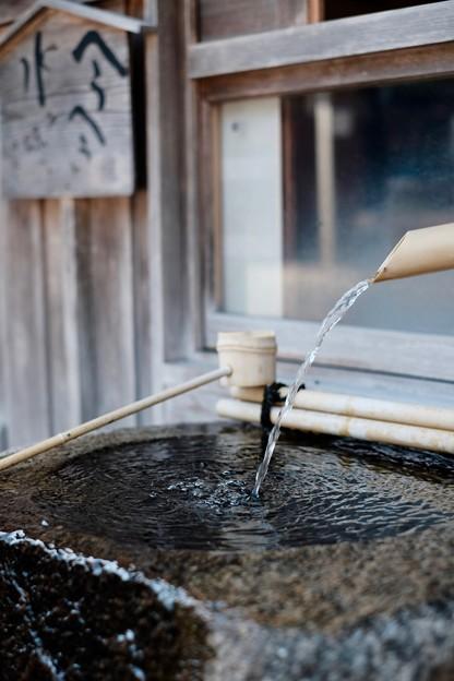 名水が湧く場所-奈良県天川村:洞川温泉