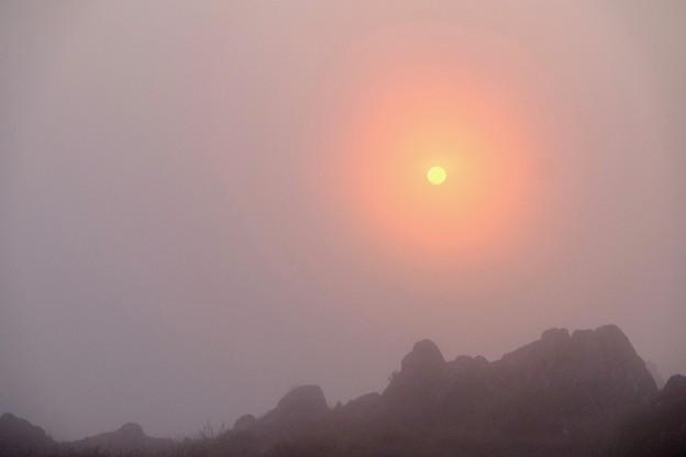 御来光を求めて-長野県諏訪市:霧ヶ峰