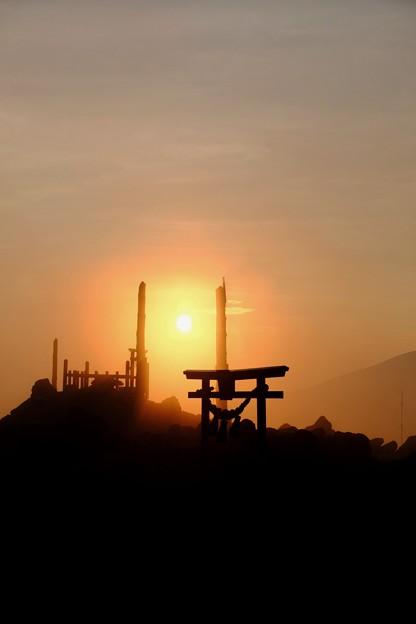 神の領域-長野県諏訪市:霧ヶ峰