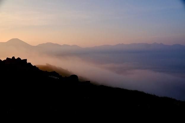 大好きな山並み-長野県諏訪市:霧ヶ峰