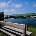 Photos: 高原と湖-長野県茅野市:白樺湖