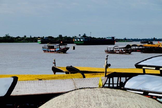 悠々たる流れ-Mekong River, Viet Nam