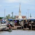 Photos: メコン川と教会-Cai Be, Viet Nam