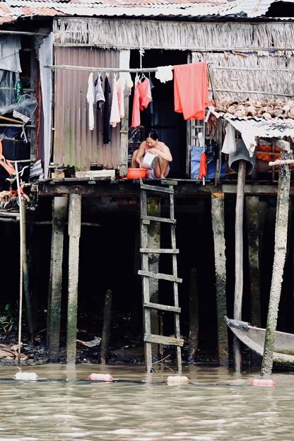 濁った川-Cai Be, Viet Nam
