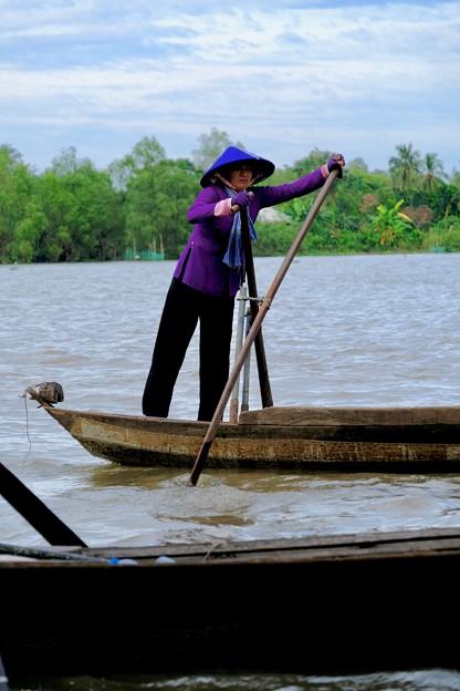 働き者-Cai Be, Viet Nam