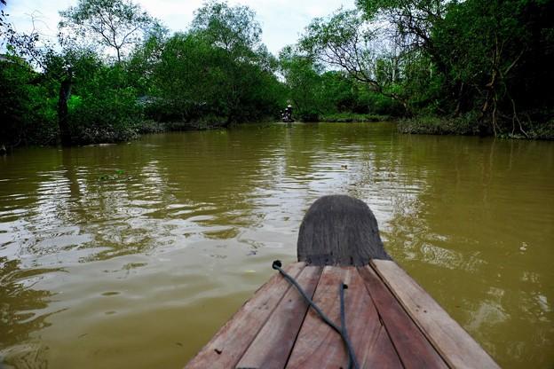 ジャングルの中を往く-Cai Be, Viet Nam