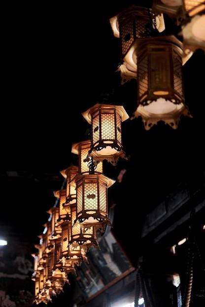 吊り燈籠-京都府宮津市:成相寺