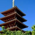 Photos: 青空と五重塔-京都府宮津市:成相寺