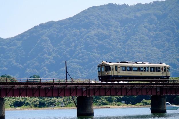 美しい橋梁-京都府宮津市:由良川橋梁