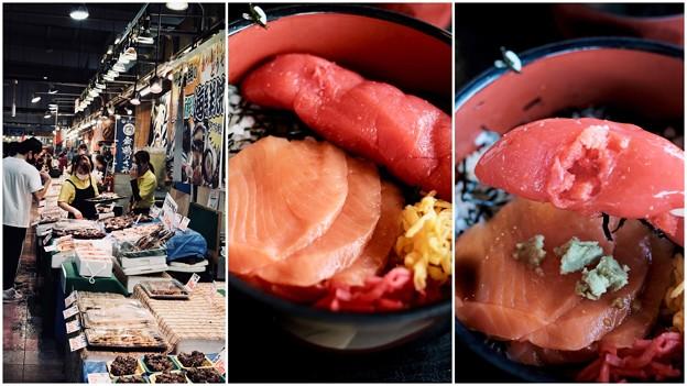 海鮮丼のお店へ-京都府舞鶴市:舞鶴港とれとれセンター