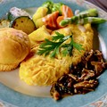やっぱり野菜が美味い-長野県安曇野市:「ティータイム ガルニ」
