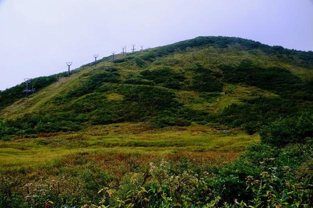 山の上は雲の中-長野県白馬村:八方尾根