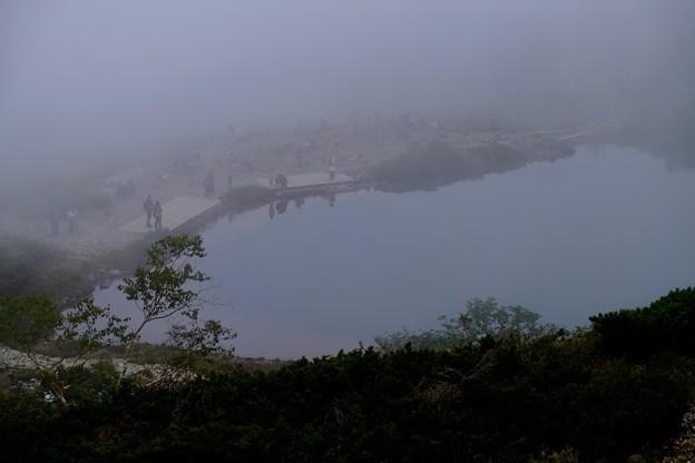 Photos: 五里霧中-長野県白馬村:八方池