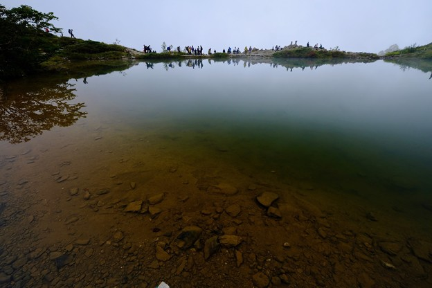 これからも登山を楽しみたい-長野県白馬村:八方池