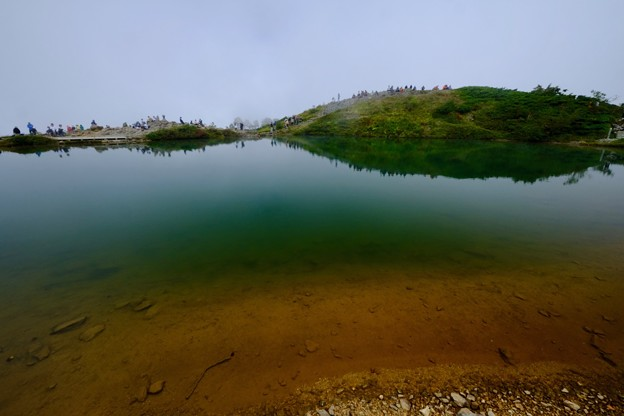 素敵な光景-長野県白馬村:八方池