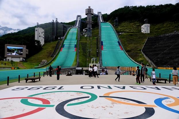1998年2月17日-長野県白馬村:白馬ジャンプ競技場