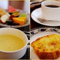 Photos: 爽やかな朝-長野県小谷村:「プチホテル アイリス」