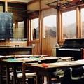 電車の教室-長野県安曇野市:安曇野ちひろ美術館