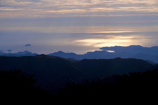 輝く海-奈良県上北山村:大台ヶ原山