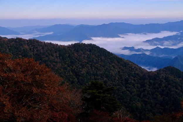 雲海-奈良県上北山村:大台ヶ原山