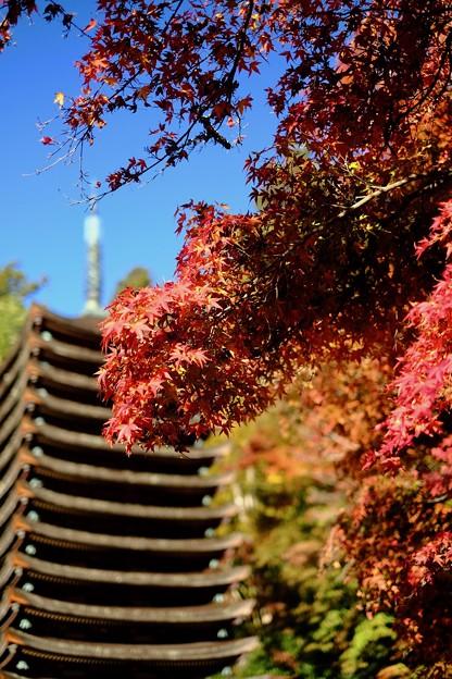十三重塔-奈良県桜井市:談山神社
