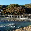 紅葉の京都へ-京都市右京区:嵐山