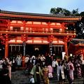 夜の京都へ-京都市東山区:八坂神社
