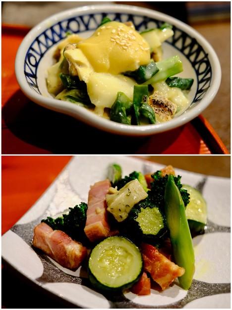 食べて、飲んで、喋って-京都市中京区:「あおい」