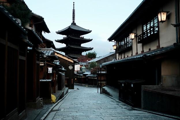 京都で最古の五重塔-京都市東山区:八坂の塔
