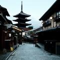 Photos: 京都で最古の五重塔-京都市東山区:八坂の塔