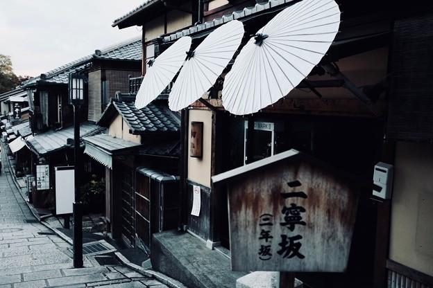 早朝の撮影-京都市東山区:二寧坂