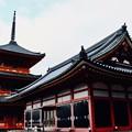 早朝の参拝-京都市東山区:清水寺