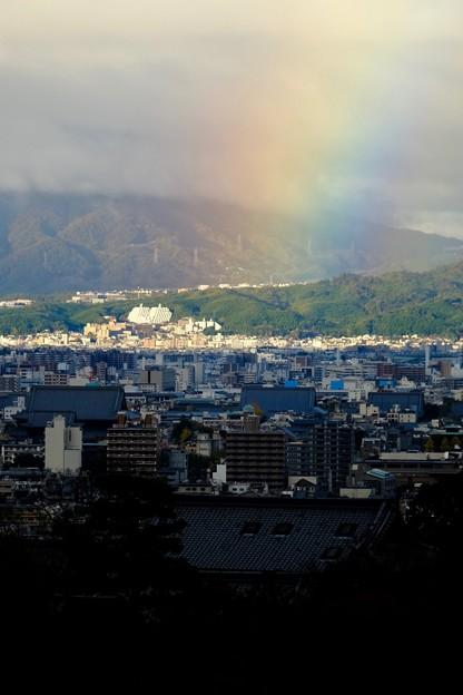 古都の虹-京都市東山区:清水寺