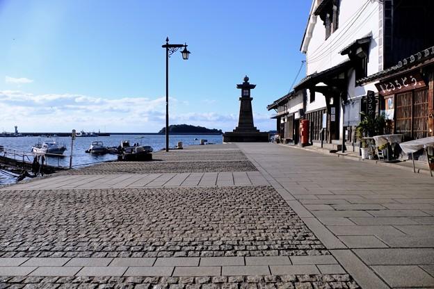 歴史ある港町へ-広島県福山市:鞆の浦