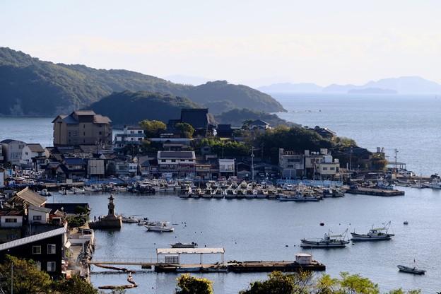 海を見下ろす場所-広島県福山市:鞆の浦