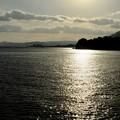 穏やかな瀬戸の海-広島県廿日市市:宮島